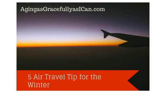 5  Air Travel Tips for the Winter