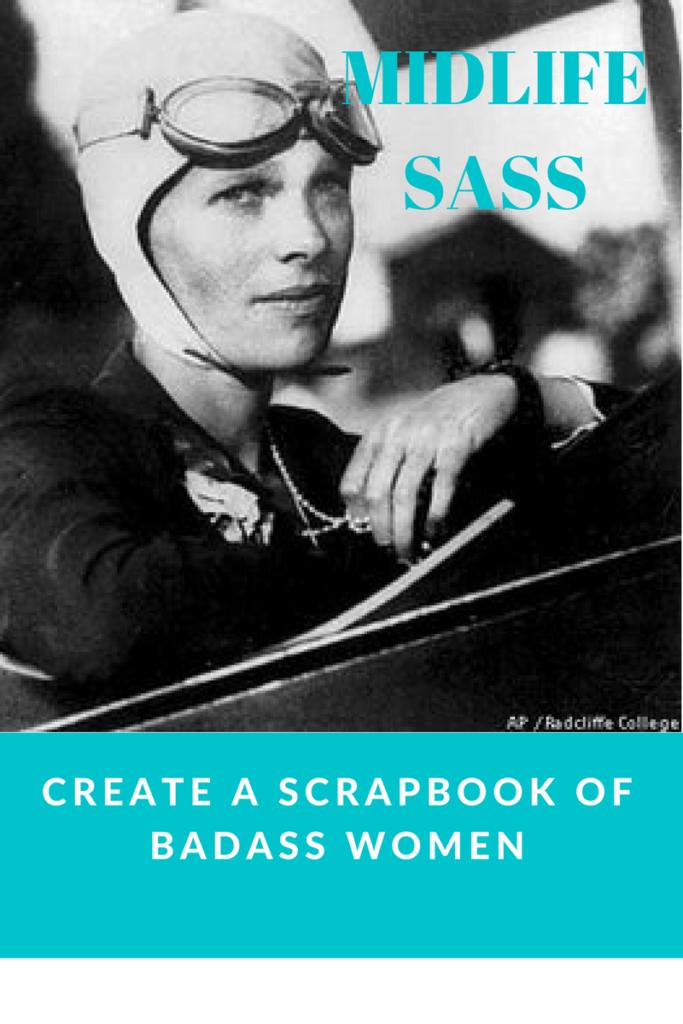 Midlife Sass – Create a Scrapbook of Badass