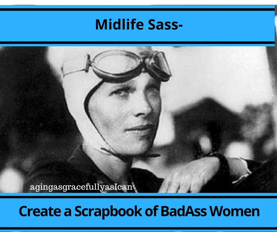 Midlife Sass – Create a Scrapbook of Badass